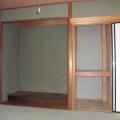 1階8帖和室押入れ・床の間