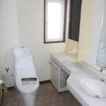 2階トイレ(洗浄便座付)新品交換済