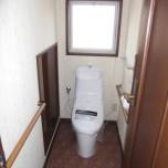 1階トイレ(洗浄便座付)新品交換済