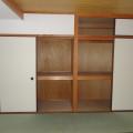 和室6帖押入れ・写真は201号室